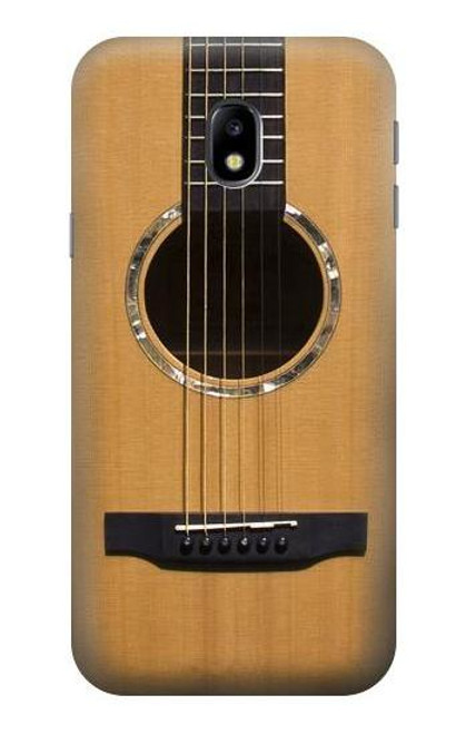 S0057 Acoustic Guitar Etui Coque Housse pour Samsung Galaxy J3 (2017) EU Version
