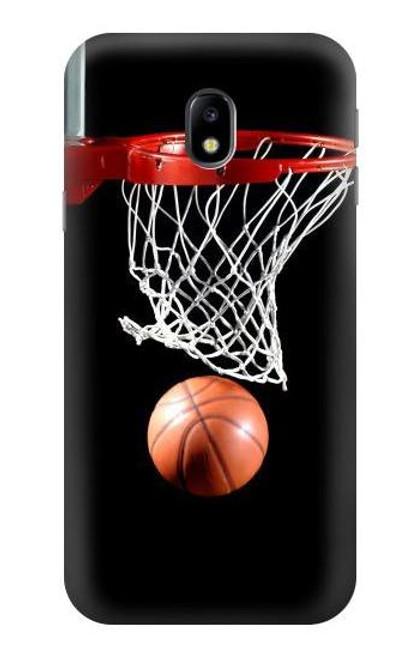 S0066 Basketball Etui Coque Housse pour Samsung Galaxy J3 (2017) EU Version