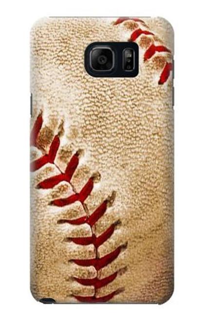S0064 Baseball Etui Coque Housse pour Samsung Galaxy S6 Edge Plus