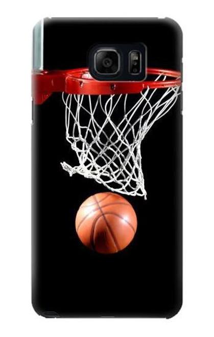 S0066 Basketball Etui Coque Housse pour Samsung Galaxy S6 Edge Plus