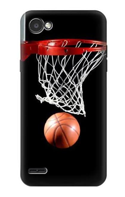 S0066 Basketball Etui Coque Housse pour LG Q6