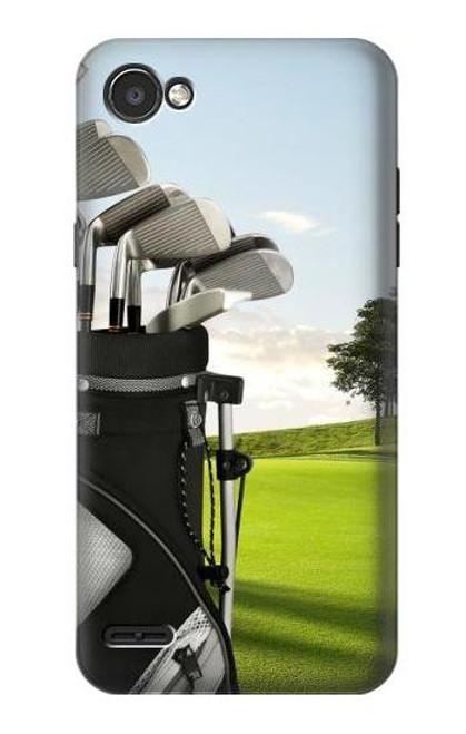 S0067 Golf Etui Coque Housse pour LG Q6