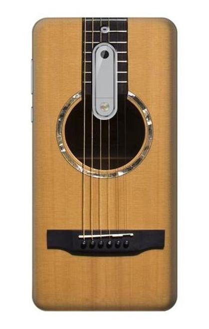 S0057 Acoustic Guitar Etui Coque Housse pour Nokia 5