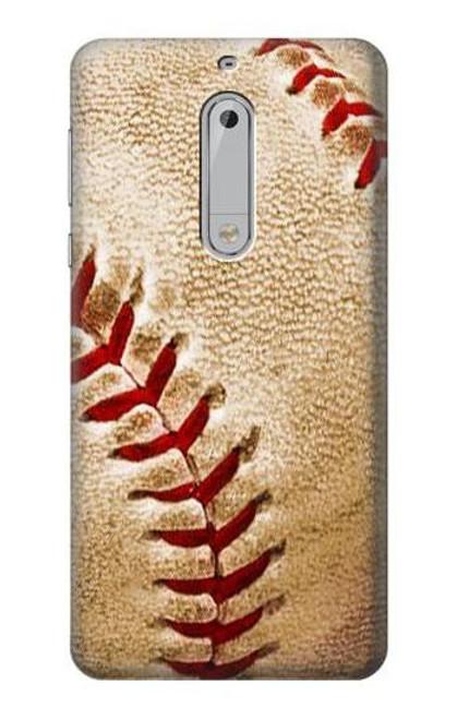 S0064 Baseball Etui Coque Housse pour Nokia 5