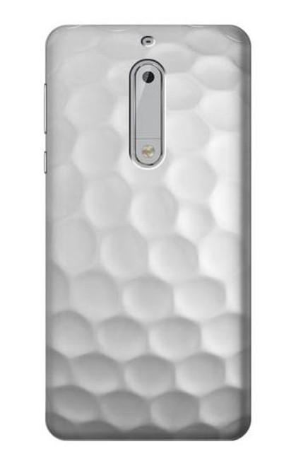S0071 Golf Ball Etui Coque Housse pour Nokia 5