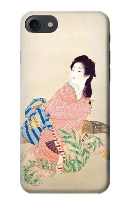 S0889 Japan Art Kimono Etui Coque Housse pour iPhone 7, iPhone 8