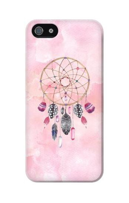 S3094 Dreamcatcher Watercolor Painting Etui Coque Housse pour iPhone 5C
