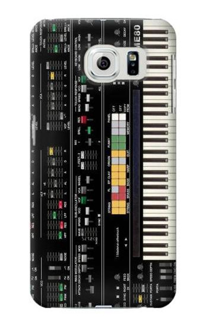 S0061 Synthesizer Etui Coque Housse pour Samsung Galaxy S6