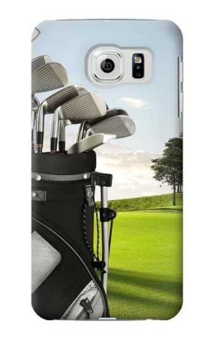 S0067 Golf Etui Coque Housse pour Samsung Galaxy S6