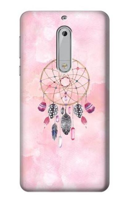 S3094 Dreamcatcher Watercolor Painting Etui Coque Housse pour Nokia 5