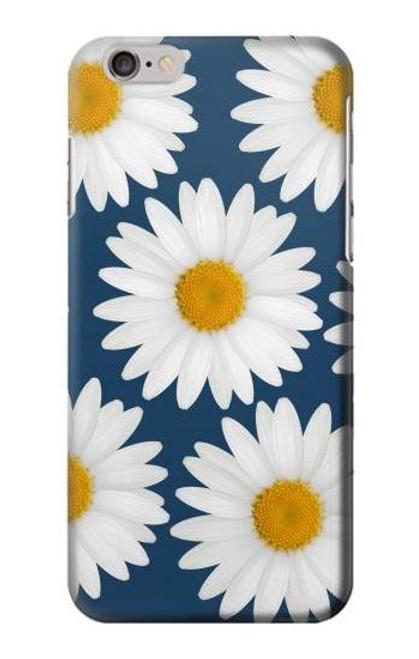 S3009 Daisy Blue Etui Coque Housse pour iPhone 6 6S