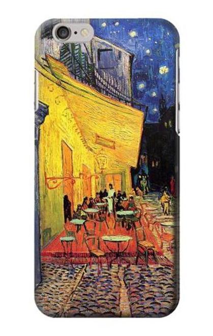 S0929 Van Gogh Cafe Terrace Etui Coque Housse pour iPhone 6 Plus, 6S Plus