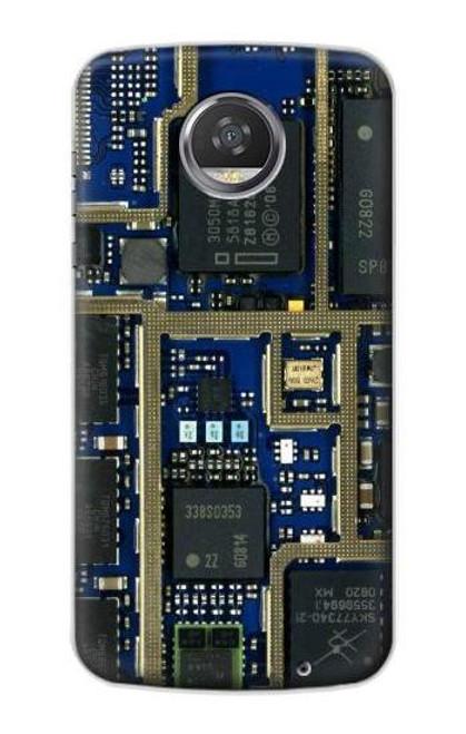 S0063 Curcuid Board Etui Coque Housse pour Motorola Moto Z2 Play, Z2 Force