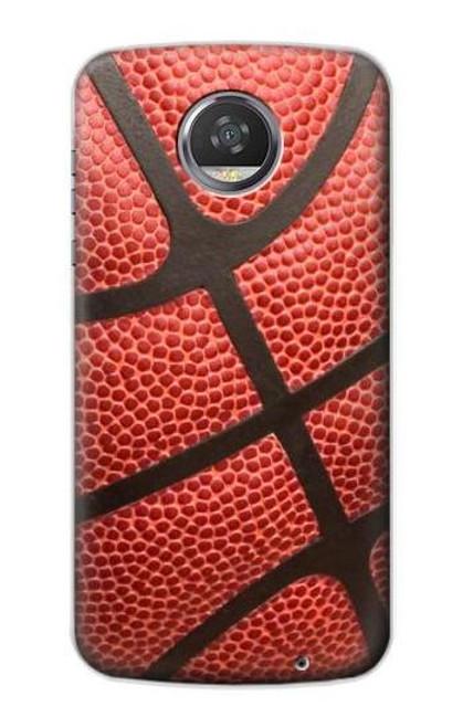 S0065 Basketball Etui Coque Housse pour Motorola Moto Z2 Play, Z2 Force