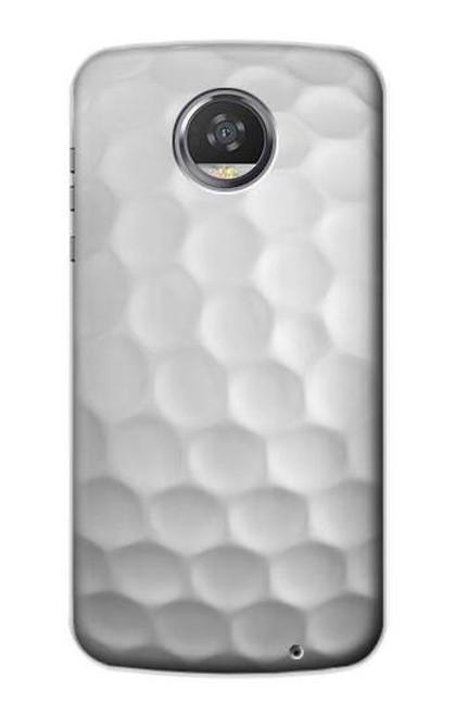 S0071 Golf Ball Etui Coque Housse pour Motorola Moto Z2 Play, Z2 Force
