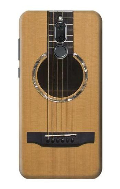 S0057 Acoustic Guitar Etui Coque Housse pour Huawei Mate 10 Lite