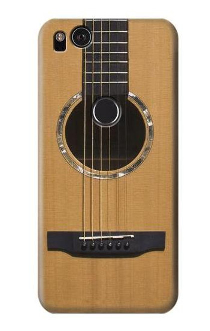 S0057 Guitare acoustique Etui Coque Housse pour Google Pixel 2 XL