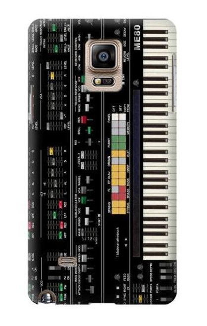 S0061 Synthesizer Etui Coque Housse pour Samsung Galaxy Note 4