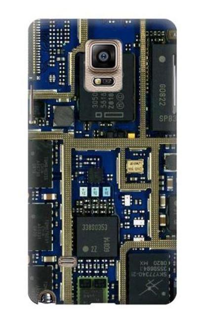 S0063 Curcuid Board Etui Coque Housse pour Samsung Galaxy Note 4