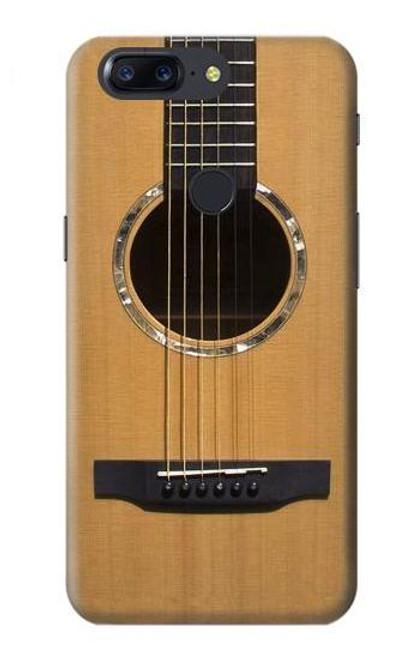 S0057 Acoustic Guitar Etui Coque Housse pour OnePlus 5T