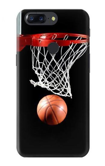 S0066 Basketball Etui Coque Housse pour OnePlus 5T