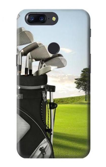 S0067 Golf Etui Coque Housse pour OnePlus 5T
