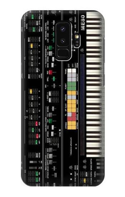 S0061 Synthesizer Etui Coque Housse pour Samsung Galaxy S9 Plus