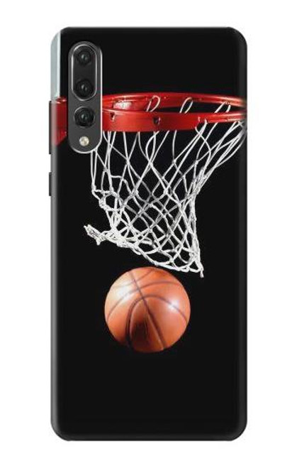 S0066 Basketball Etui Coque Housse pour Huawei P20 Pro