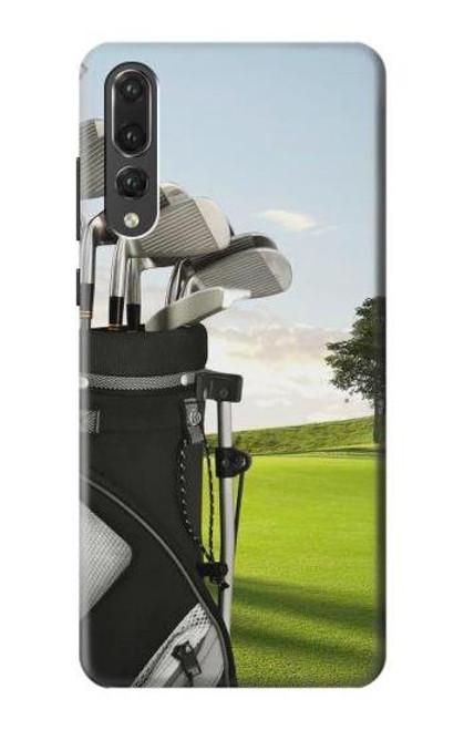 S0067 Golf Etui Coque Housse pour Huawei P20 Pro