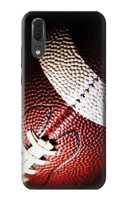 S0062 American Football Etui Coque Housse pour Huawei P20