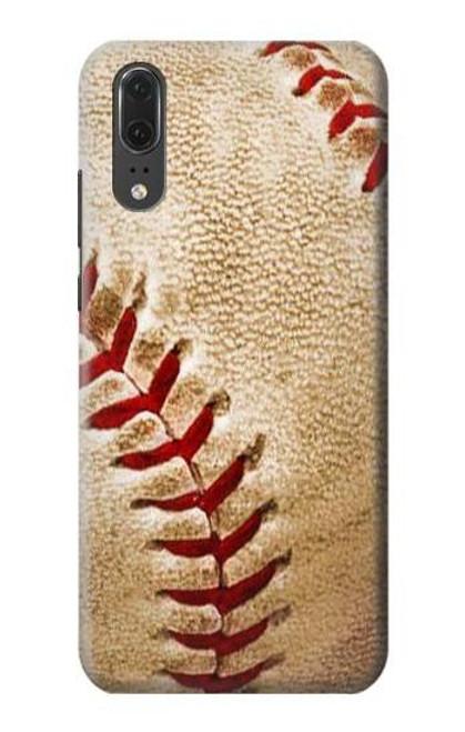 S0064 Baseball Etui Coque Housse pour Huawei P20