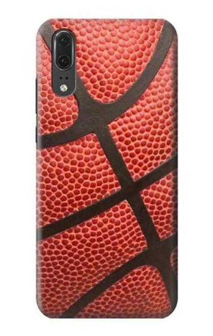 S0065 Basketball Etui Coque Housse pour Huawei P20