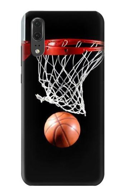 S0066 Basketball Etui Coque Housse pour Huawei P20