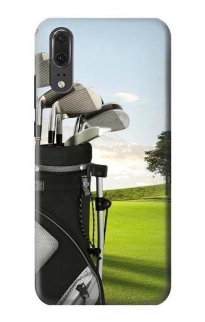 S0067 Golf Etui Coque Housse pour Huawei P20