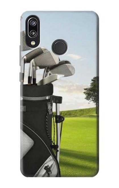 S0067 Golf Etui Coque Housse pour Huawei P20 Lite