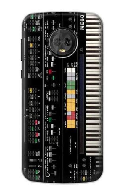S0061 Synthesizer Etui Coque Housse pour Motorola Moto G6