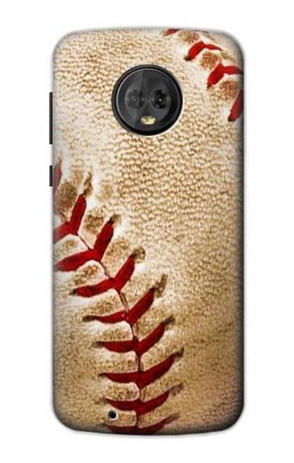 S0064 Baseball Etui Coque Housse pour Motorola Moto G6