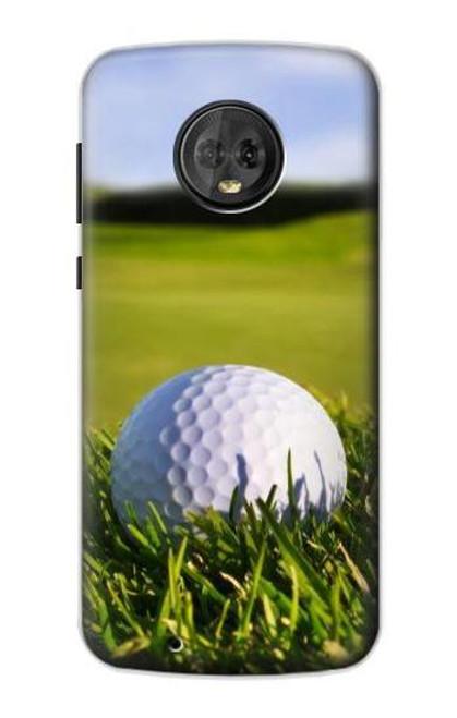 S0068 Golf Etui Coque Housse pour Motorola Moto G6