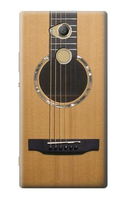 S0057 Acoustic Guitar Etui Coque Housse pour Sony Xperia XA2 Ultra