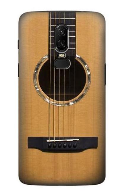 S0057 Acoustic Guitar Etui Coque Housse pour OnePlus 6