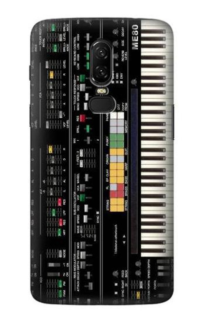 S0061 Synthesizer Etui Coque Housse pour OnePlus 6