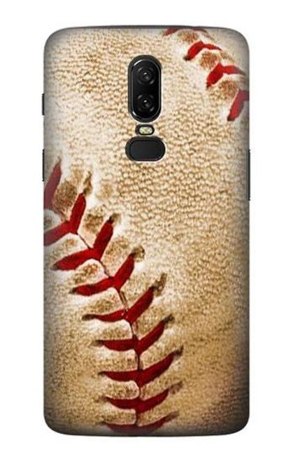 S0064 Baseball Etui Coque Housse pour OnePlus 6