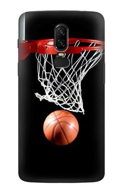 S0066 Basketball Etui Coque Housse pour OnePlus 6