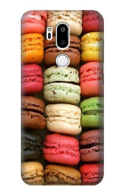 S0080 Macarons Etui Coque Housse pour LG G7 ThinQ