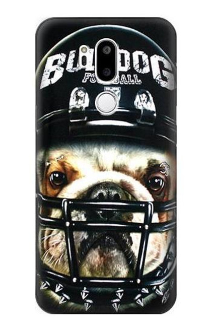 S0098 Bulldog American Football Etui Coque Housse pour LG G7 ThinQ