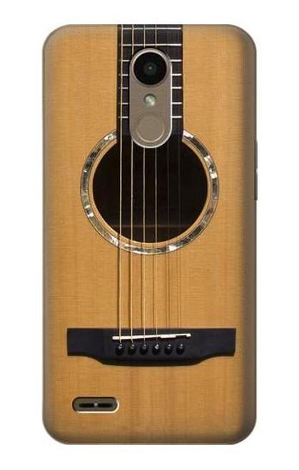 S0057 Acoustic Guitar Etui Coque Housse pour LG K10 (2018), LG K30