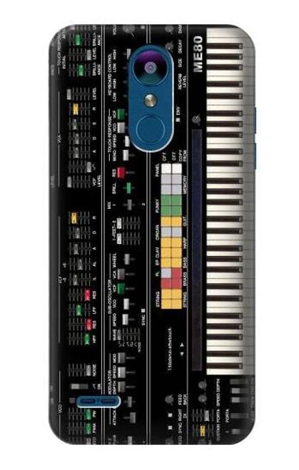 S0061 Synthesizer Etui Coque Housse pour LG K8 (2018)