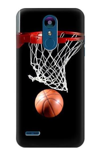 S0066 Basketball Etui Coque Housse pour LG K8 (2018)