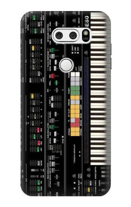 S0061 Synthesizer Etui Coque Housse pour LG V30, LG V30 Plus, LG V30S ThinQ, LG V35, LG V35 ThinQ