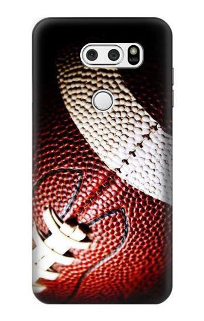 S0062 American Football Etui Coque Housse pour LG V30, LG V30 Plus, LG V30S ThinQ, LG V35, LG V35 ThinQ